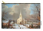 Winter Scene, C1875 Carry-all Pouch