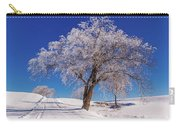 Winter Scene Genessee, Id Carry-all Pouch