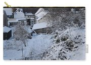 Winter Scene In North Wales Carry-all Pouch