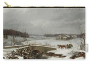 Winter Scene In Pennsylvania Carry-all Pouch