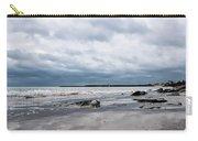 Winter Seascape 2 - Lyme Regis Carry-all Pouch