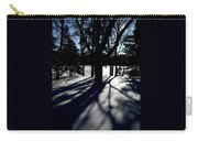 Winter Shadows 2 Carry-all Pouch
