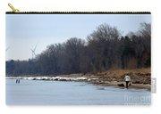 Winter Shoreline Walk  Carry-all Pouch