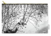 Winter Shrubs, New Hampshire Carry-all Pouch
