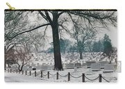 Winter Snow At Arlington Carry-all Pouch