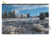 Winter Snow At Kenosha Pass Carry-all Pouch