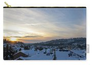 Winter Snow In Happy Valley Oregon Carry-all Pouch