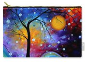 Winter Sparkle By Madart Carry-all Pouch by Megan Duncanson