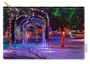 Winter Spirit At Locomotive Park Carry-all Pouch