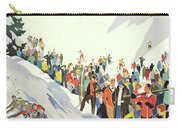Winter Sport, Mountain, France Carry-all Pouch