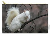 Winter Squirrel Carry-all Pouch by William Selander
