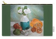 Winter Still Life Carry-all Pouch by Angeles M Pomata
