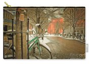 Winter Stockholm  Swiss  Carry-all Pouch