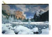 Winter Storm In Yosemite National Park Carry-all Pouch