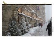 Winter Stroll In Helsinki Carry-all Pouch