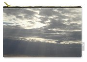 Winter Sun At Sea Carry-all Pouch