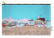 The Beach In Winter  Carry-all Pouch
