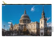 Winter Sun St Paul's Cathedral Carry-all Pouch