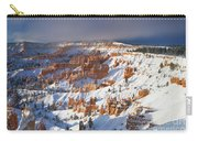 Winter Sunrise Bryce Canyon National Park Utah Carry-all Pouch