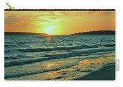 Winter Sunset At Wellfleet Harbor Carry-all Pouch