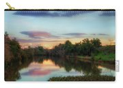 Winter Sunset On The Slough Carry-all Pouch