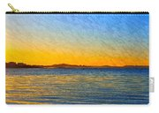 Winter Sunset Over Ipswich Bay Carry-all Pouch