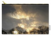 Winter Sunset, Trough Of Bowland, England Carry-all Pouch