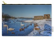 Winter Swan Lake Carry-all Pouch