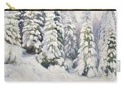 Winter Tale Carry-all Pouch by Aleksandr Alekseevich Borisov