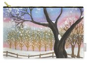 Winter Tree Landscape Carry-all Pouch