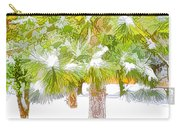 Winter Trees 1 Carry-all Pouch