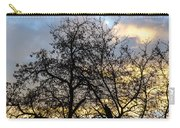 Winter Trees At Sunset Carry-all Pouch
