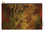 Winter Trees In Gold And Red Carry-all Pouch