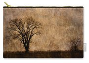 Winter Trees In The Bottomland 1 Carry-all Pouch