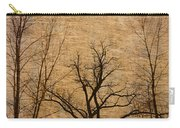 Winter Trees In The Bottomlands 2 Carry-all Pouch