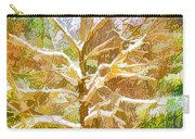 Winter Trees On Snow 2 Carry-all Pouch