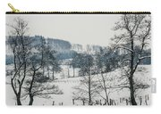 Winter Trees Solitude Landscape Carry-all Pouch