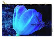 Winter Tulip Blue Theme 2 Carry-all Pouch