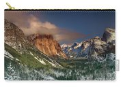 Winter Tunnel View Yosemite National Park  Carry-all Pouch