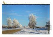 Winter In Saskatchewan Carry-all Pouch