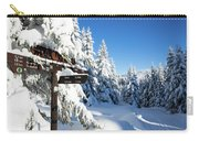 winter way in the Upper Harz Carry-all Pouch