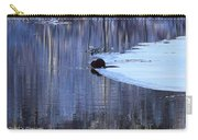 Winter Wildlife In New England Carry-all Pouch