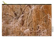Winter Willow Branches Carry-all Pouch
