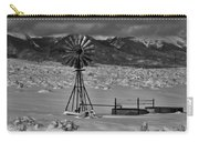 Winter Windmill Carry-all Pouch