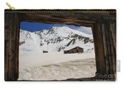 Winter Window View Carry-all Pouch
