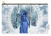 Winter Woman Carry-all Pouch
