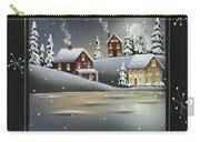 Winter Wonderland - Believe Carry-all Pouch