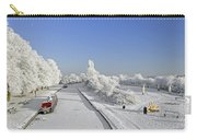 Winter Wonderland Carry-all Pouch by Rod Johnson
