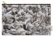 Winter's Contrast Carry-all Pouch by Carol Groenen