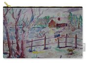 Winter's Joys Carry-all Pouch